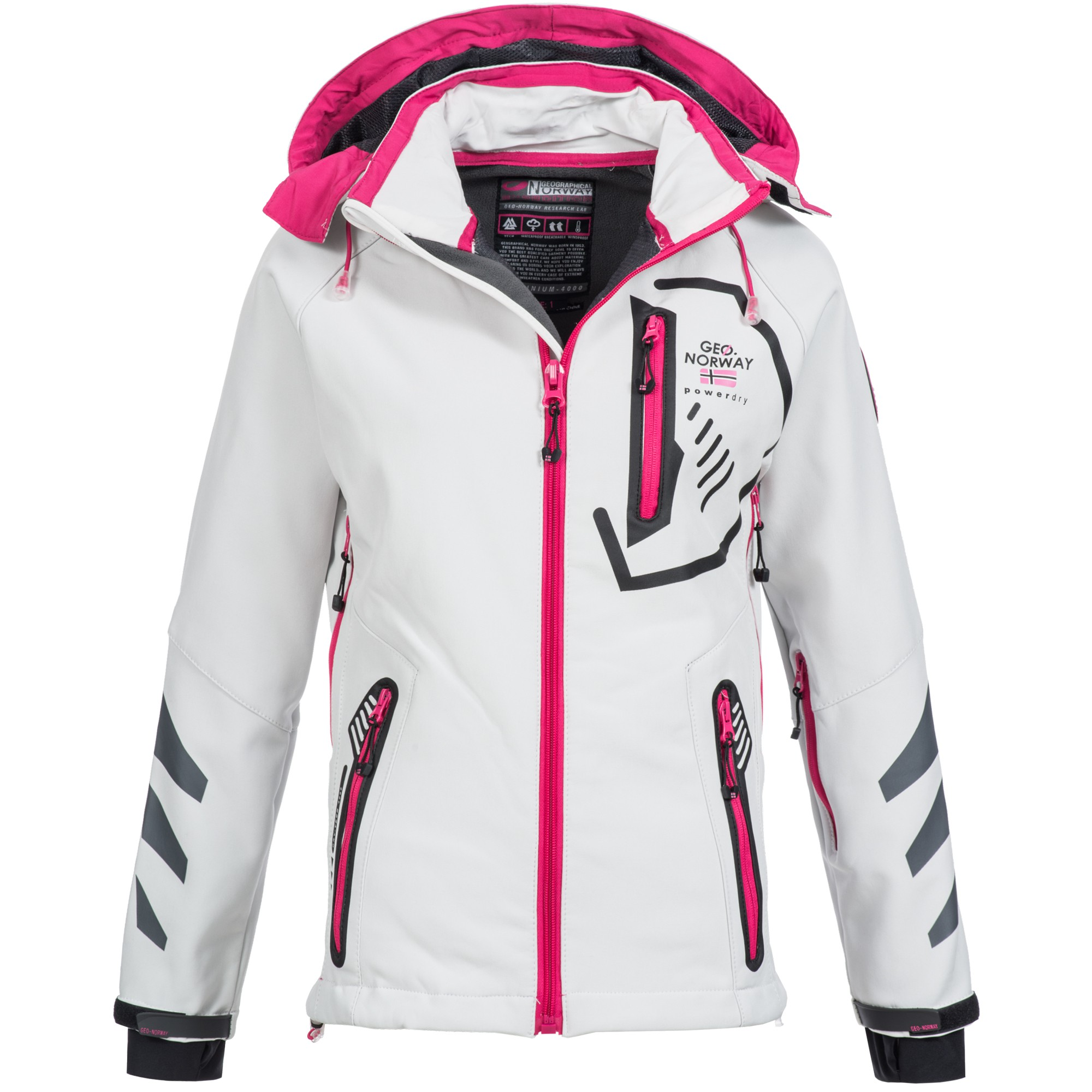 geographical norway touch damen softshell jacke. Black Bedroom Furniture Sets. Home Design Ideas
