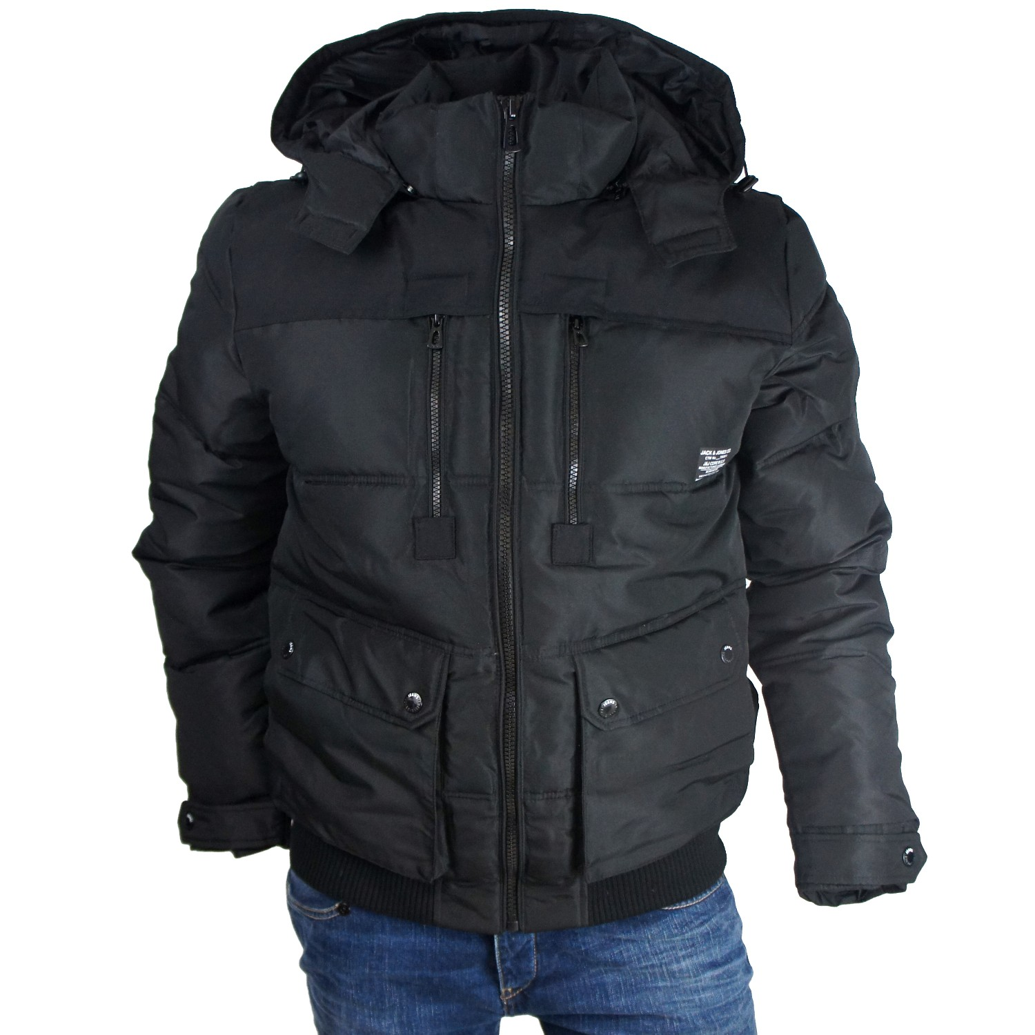 jack jones jacke mantel jacket winter rider jkt s xxl ebay. Black Bedroom Furniture Sets. Home Design Ideas