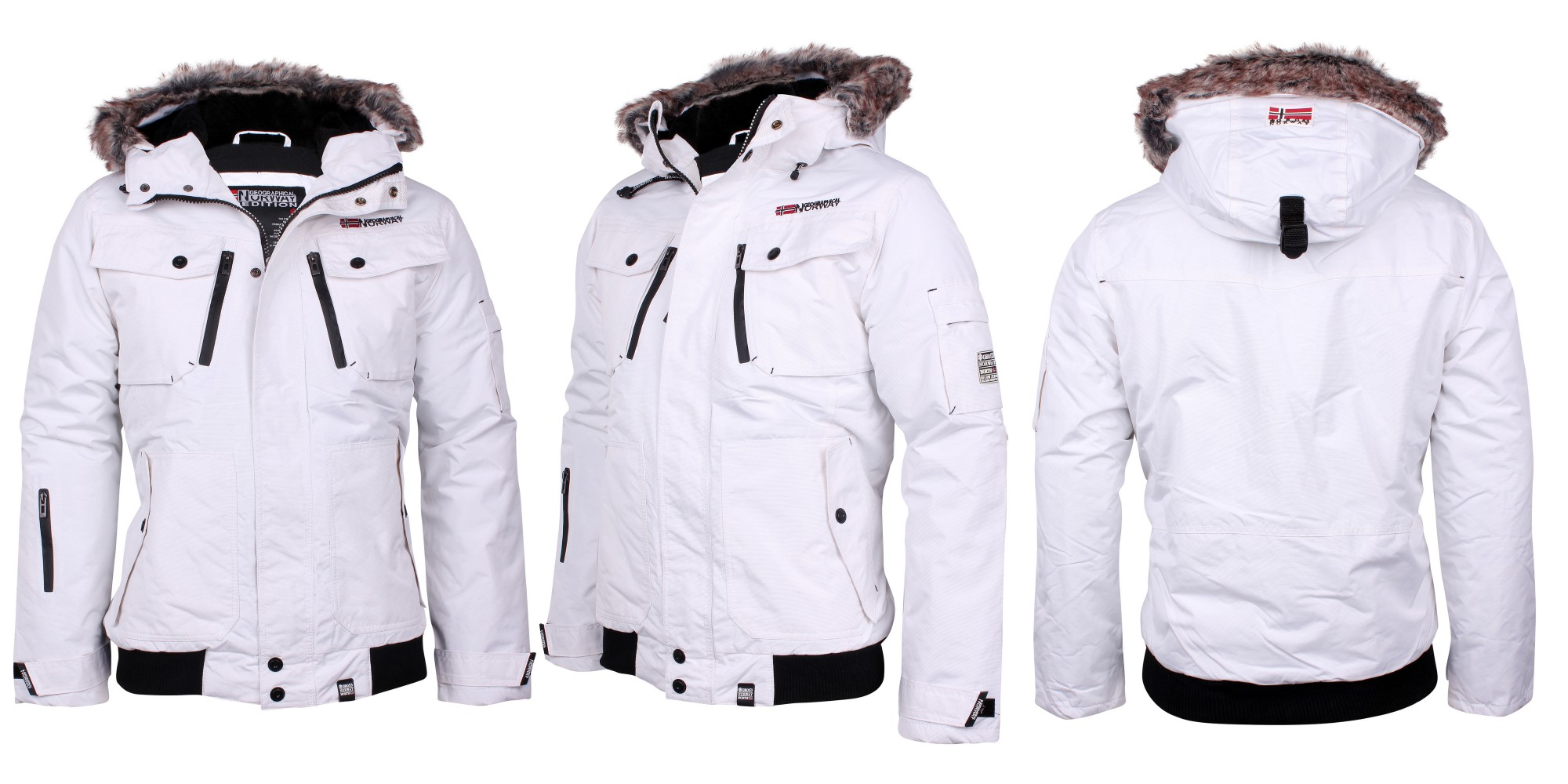 geographical norway winter jacket jacket parka clovis size. Black Bedroom Furniture Sets. Home Design Ideas