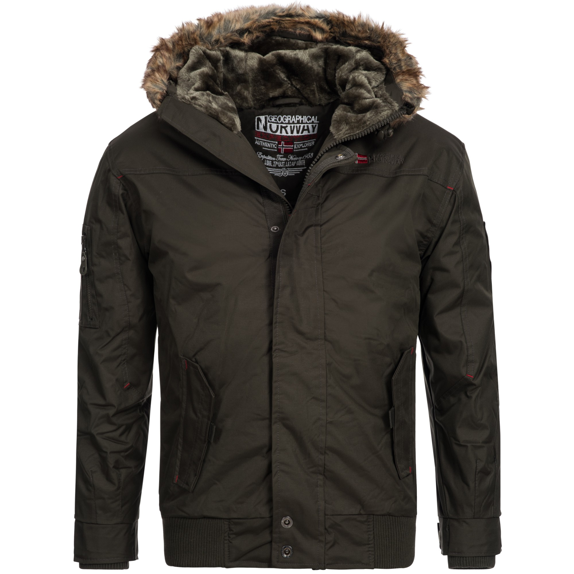 geographical norway artic herren winterjacke jacke parka gr s xxxl ebay. Black Bedroom Furniture Sets. Home Design Ideas