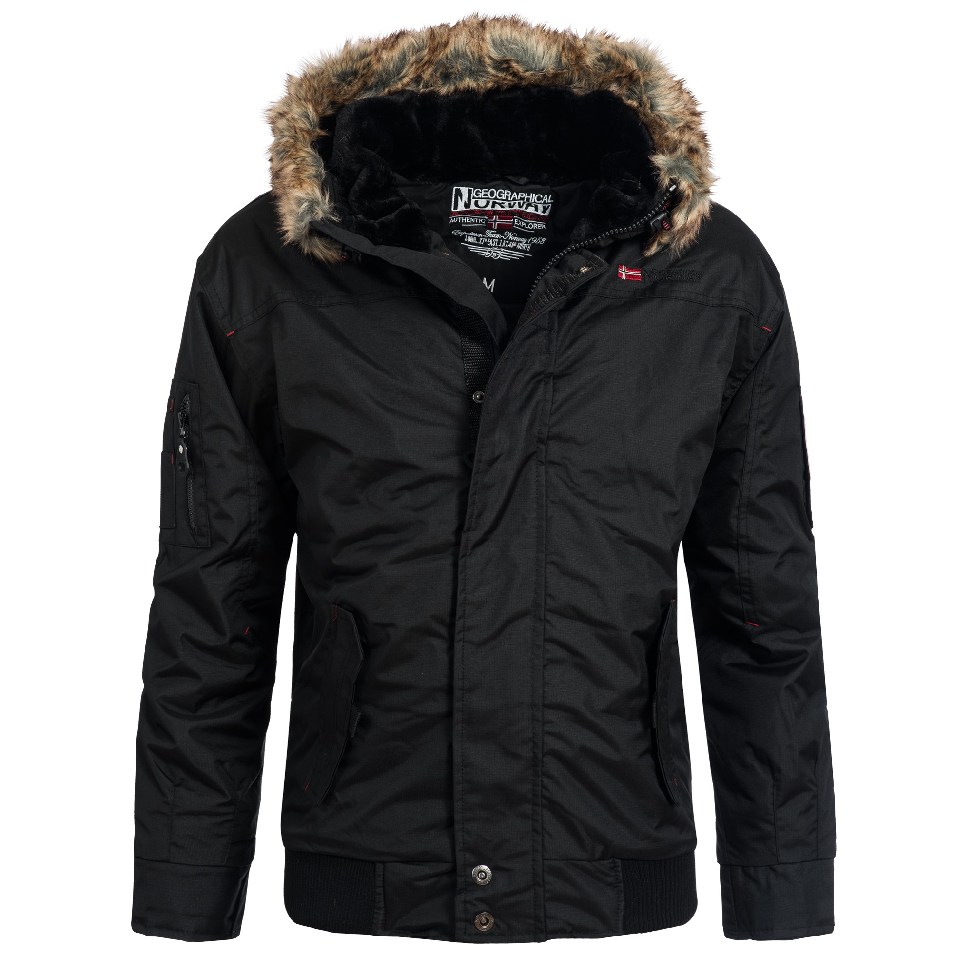 geographical norway artic herren winterjacke jacke parka. Black Bedroom Furniture Sets. Home Design Ideas