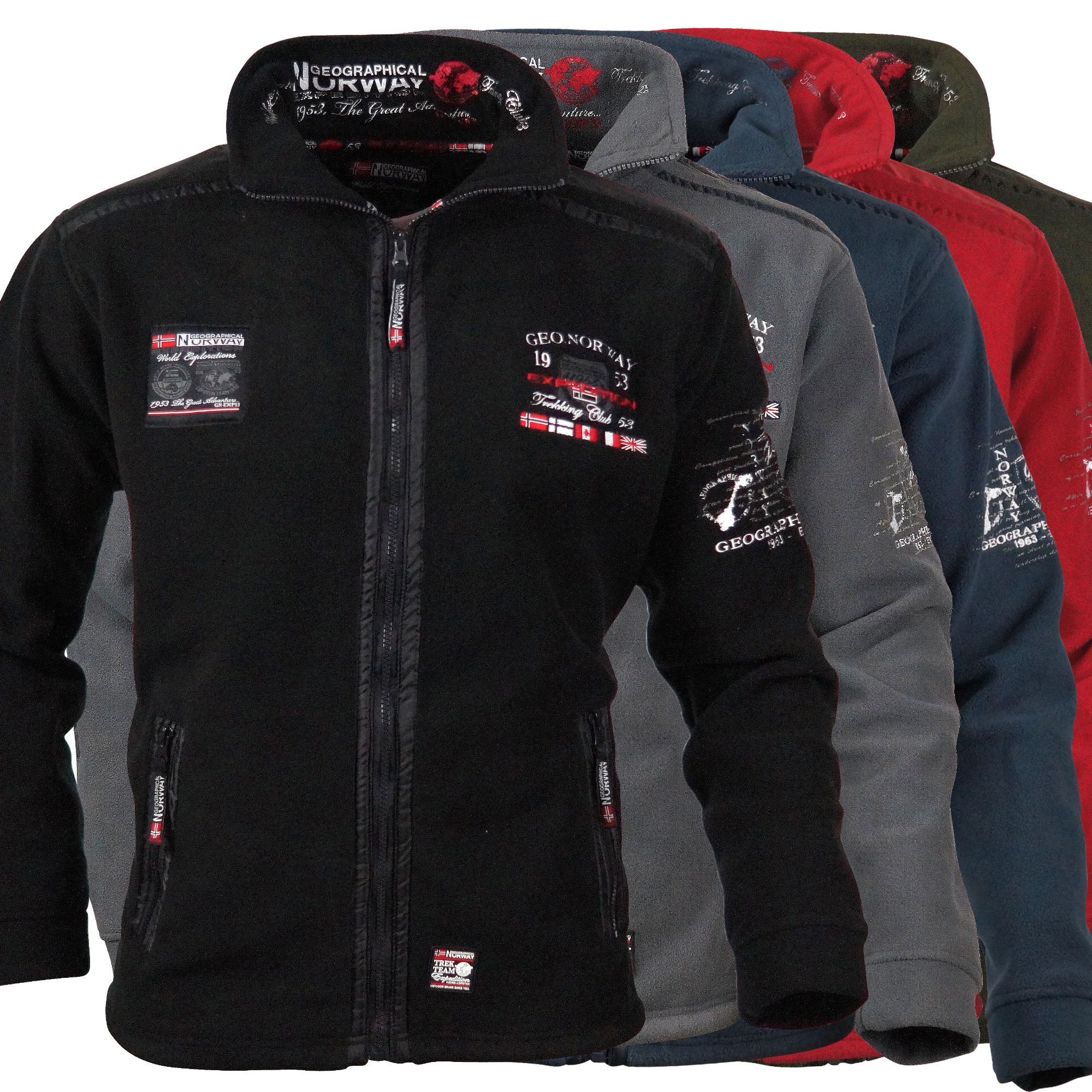 geographical norway unchart herren fleece jacke. Black Bedroom Furniture Sets. Home Design Ideas
