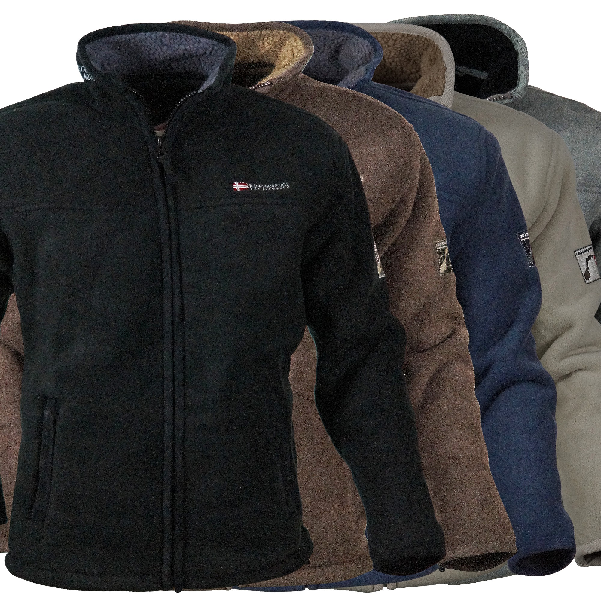 Winterjacken herren fleece