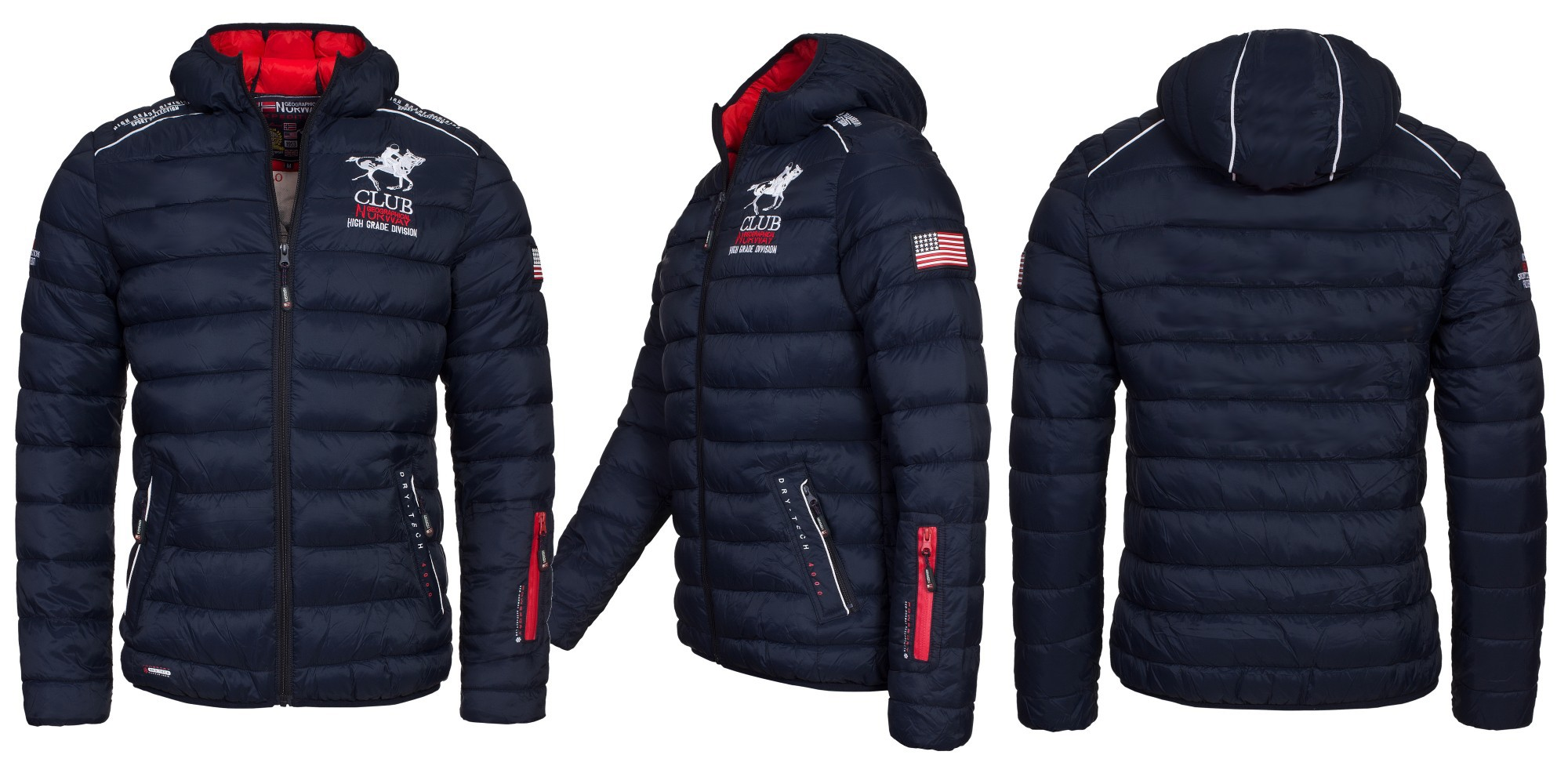 Steppjacke winterjacke geographical norway