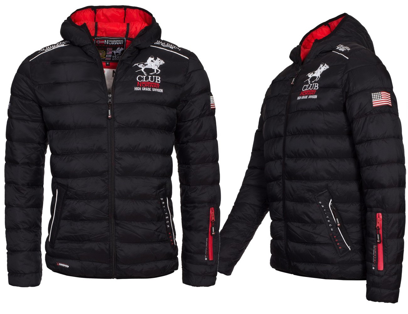 geographical norway becket herren winterjacke jacke steppjacke gr s xxl ebay. Black Bedroom Furniture Sets. Home Design Ideas