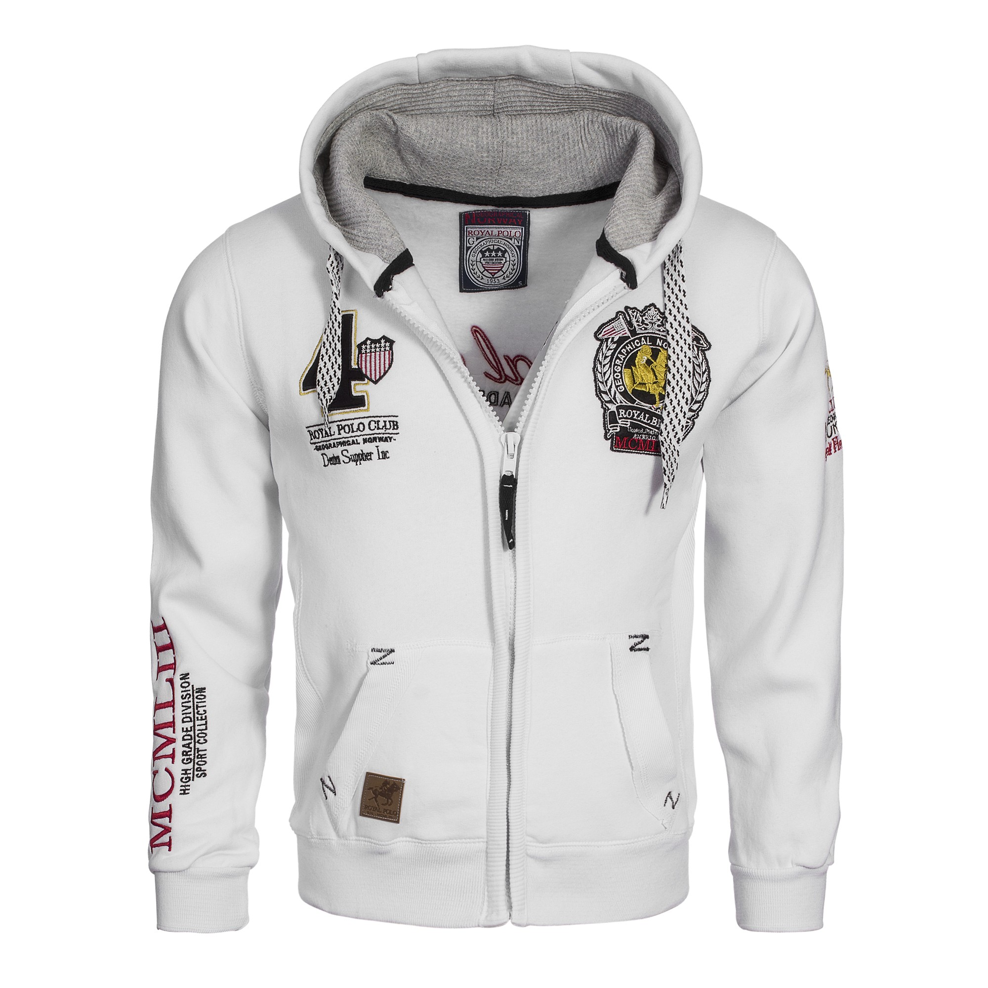 geographical norway finatti hoodie sweatjacke jacke pullover gr s xxl ebay. Black Bedroom Furniture Sets. Home Design Ideas