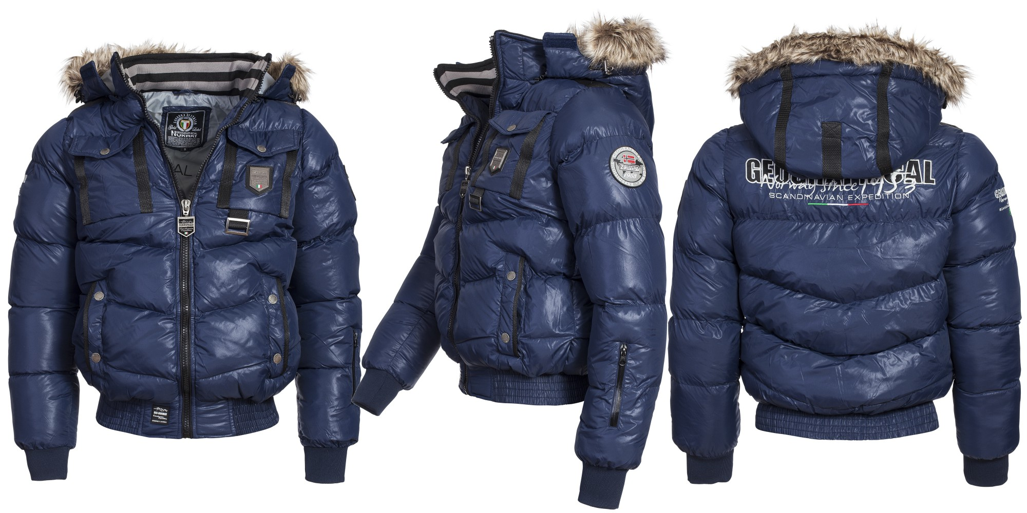 Geographical Norway Cab Mens Winter Jacket Jacket Quilted
