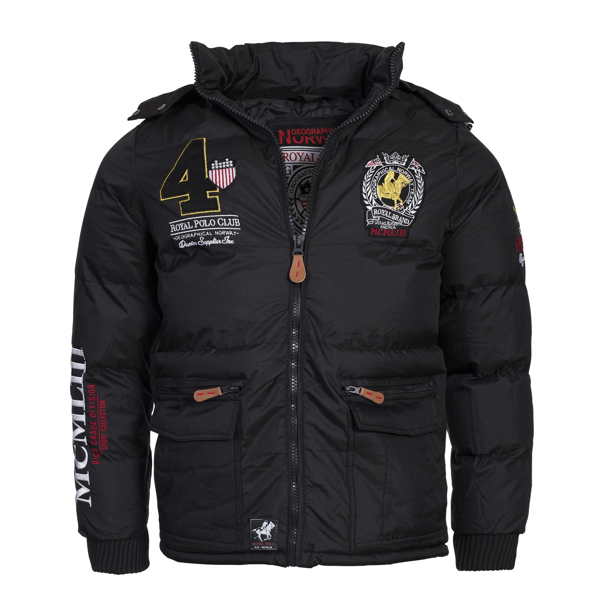 geographical norway cincinatti herren winterjacke jacke parka gr s xxl ebay. Black Bedroom Furniture Sets. Home Design Ideas