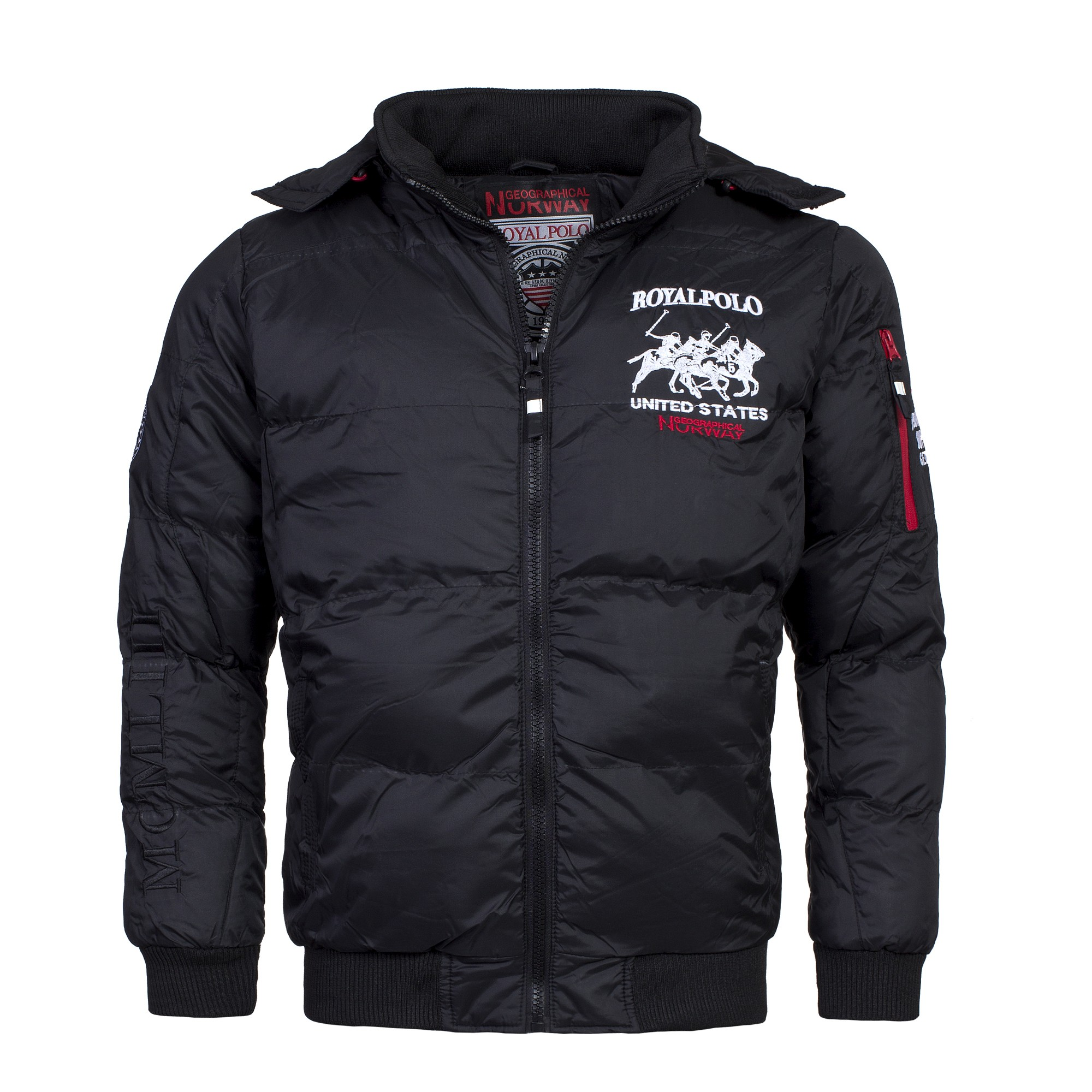 geographical norway daxy herren winterjacke jacke. Black Bedroom Furniture Sets. Home Design Ideas