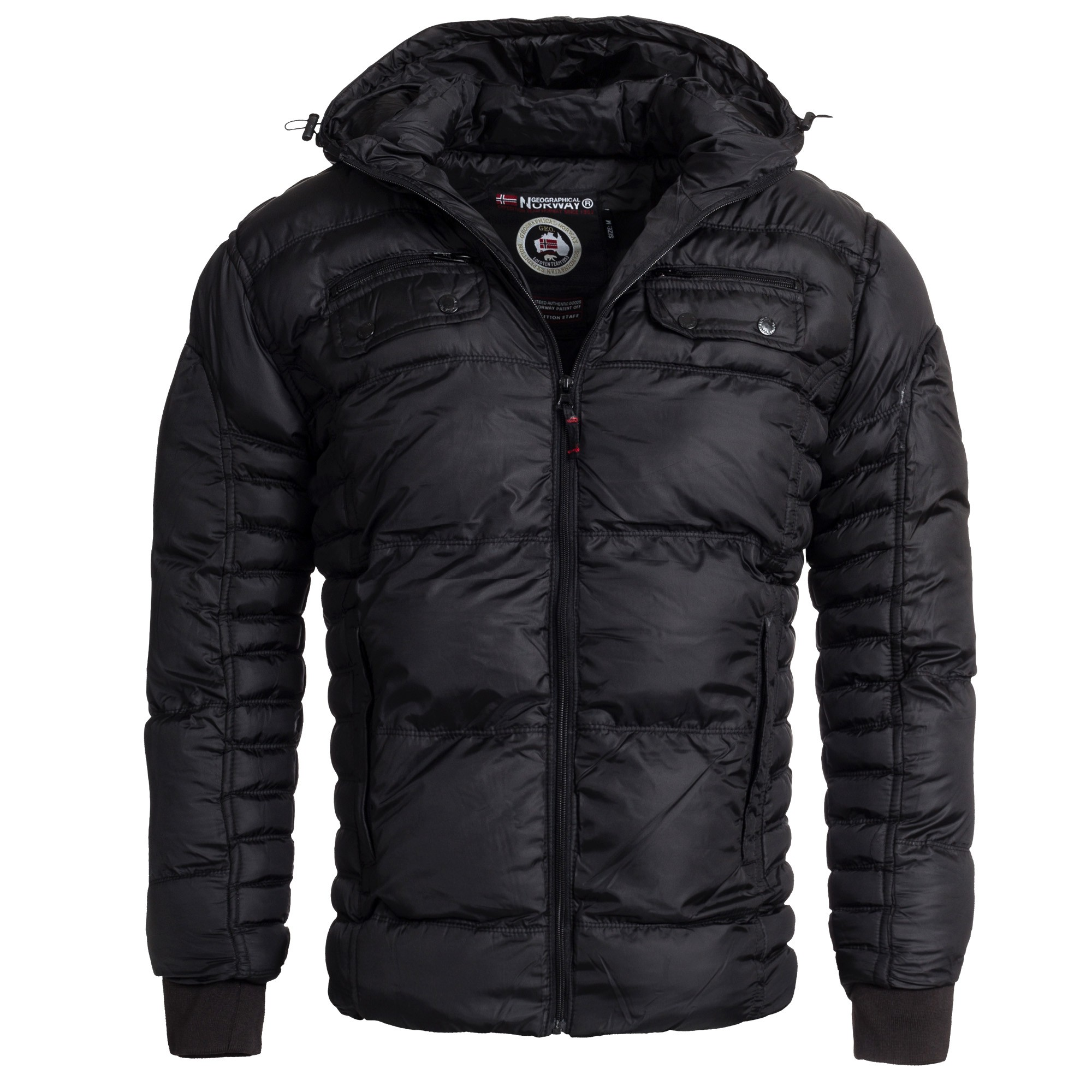 geographical norway buick herren winterjacke jacke steppjacke stepp gr s xxxl ebay. Black Bedroom Furniture Sets. Home Design Ideas