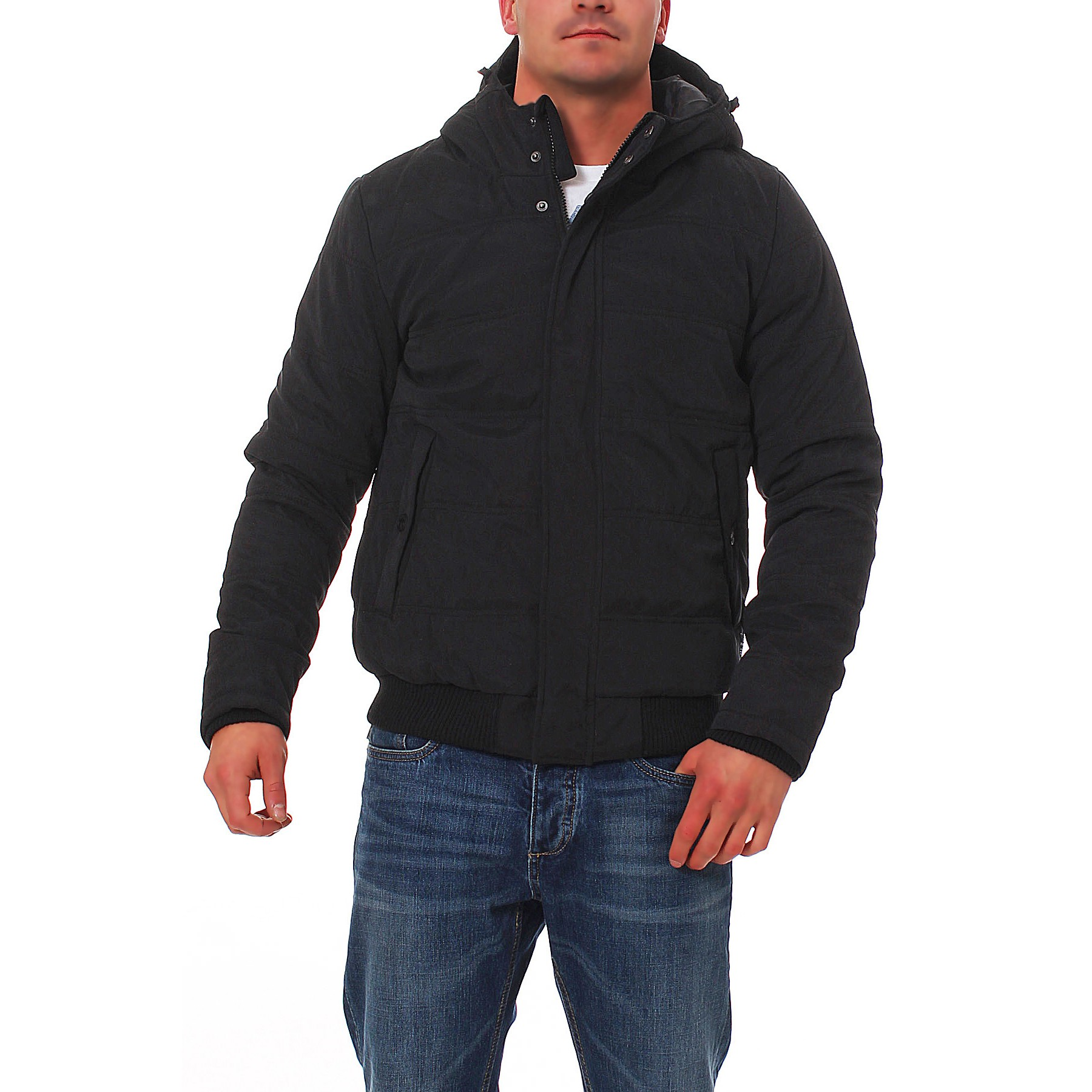 jack jones row bomber jacket herren winterjacke jacke gr. Black Bedroom Furniture Sets. Home Design Ideas