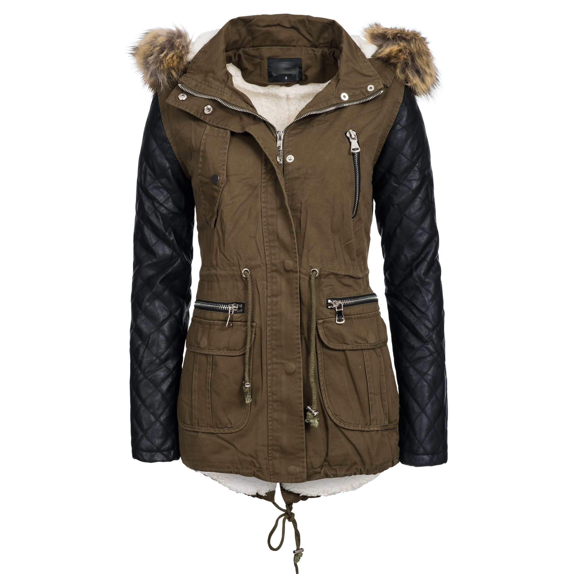 Citaten Winter Xl : Be fashion damen winter jacke parka mantel gefüttert