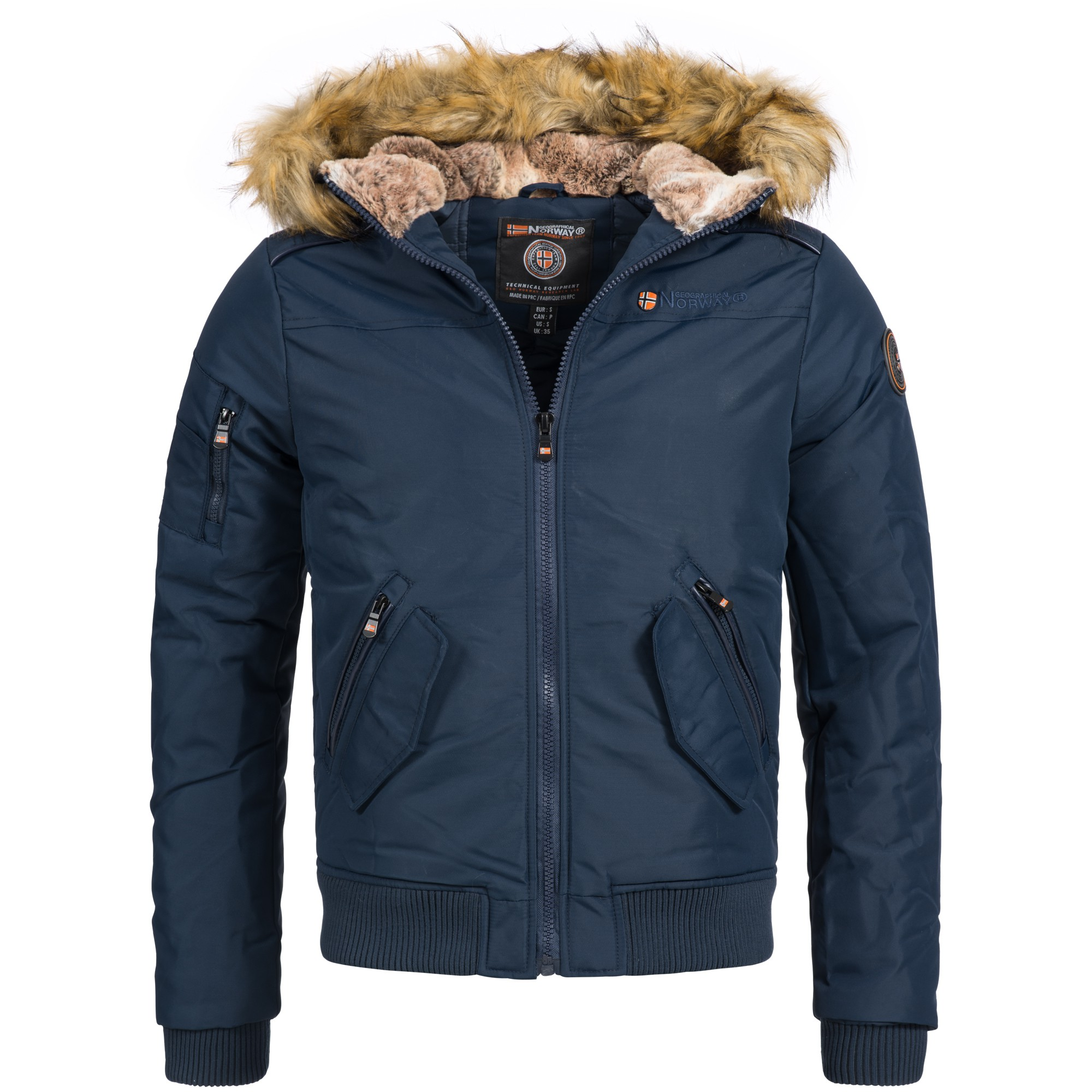 geographical norway columbo herren winterjacke jacke outdoor warm gr s xxxl 2 farben herren. Black Bedroom Furniture Sets. Home Design Ideas