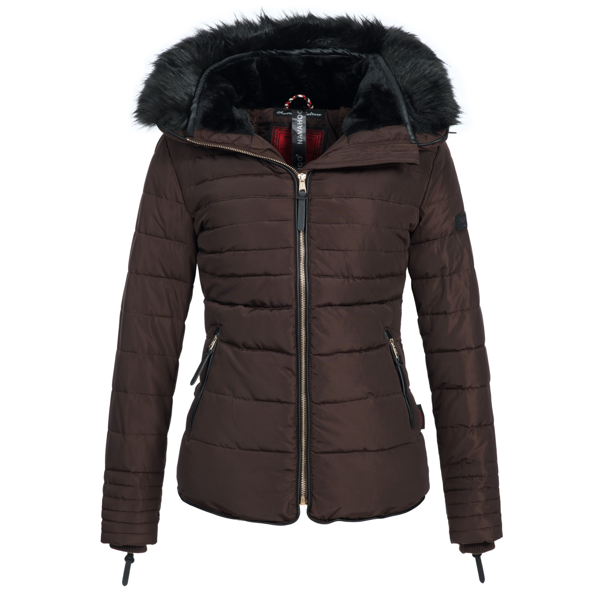 navahoo tamara damen jacke parka winterjacke steppjacke. Black Bedroom Furniture Sets. Home Design Ideas