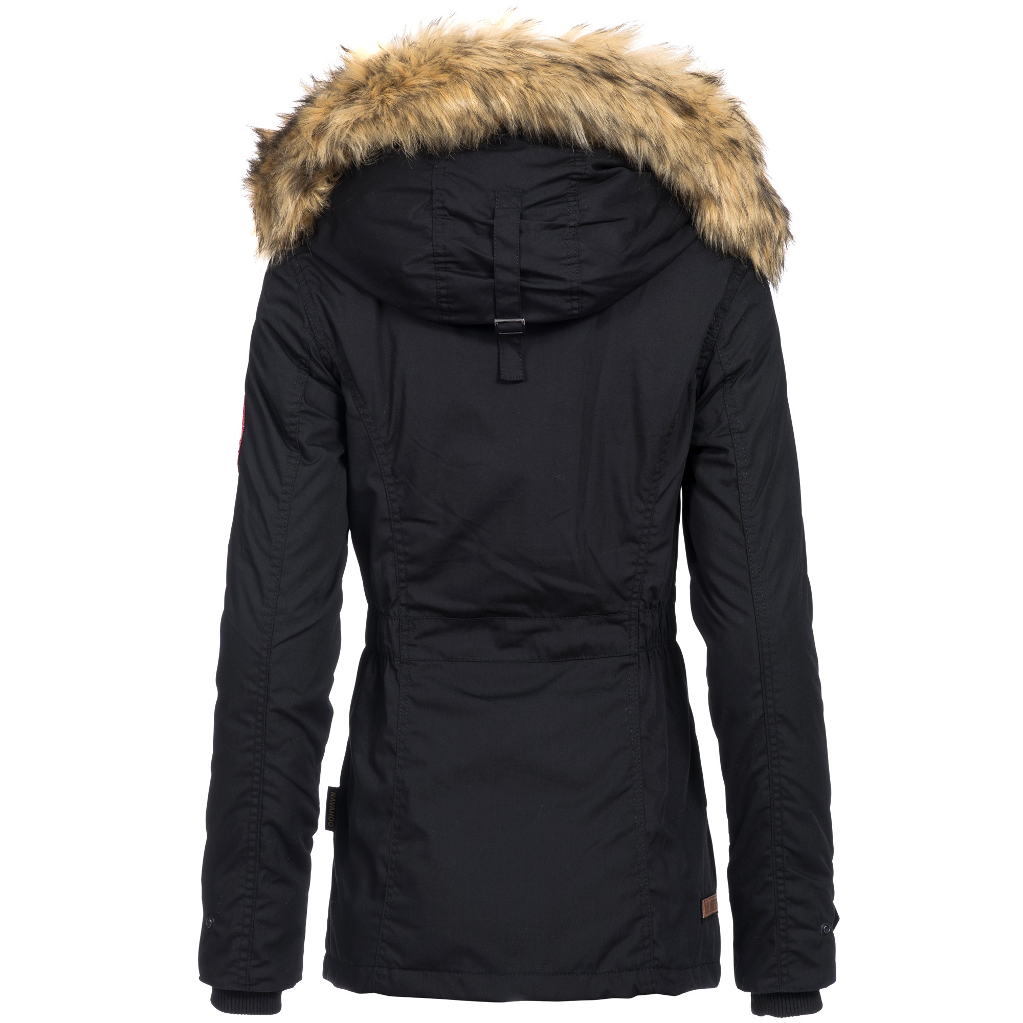 navahoo laura damen jacke parka mantel winterjacke kapuze. Black Bedroom Furniture Sets. Home Design Ideas