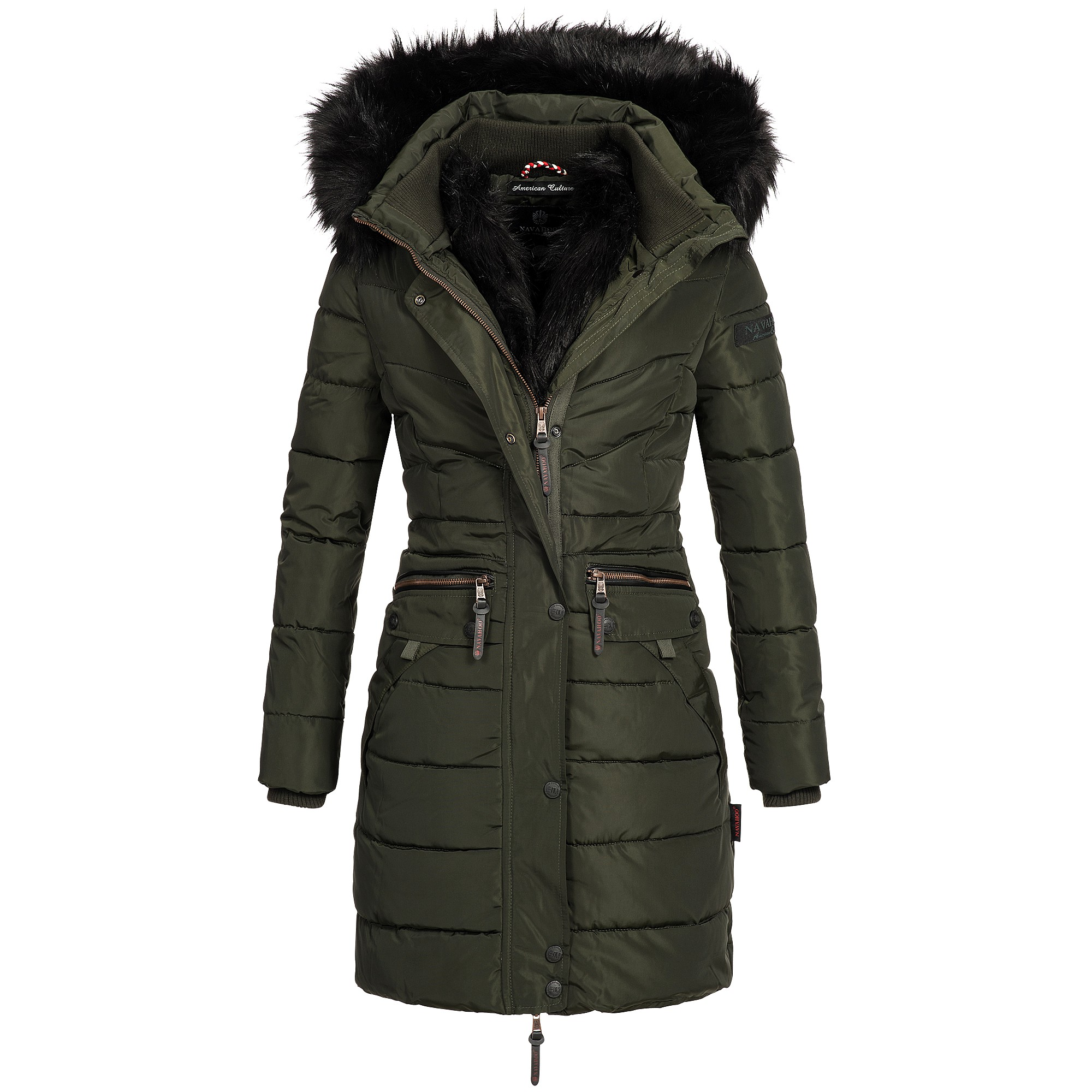 navahoo paula damen jacke parka mantel winterjacke. Black Bedroom Furniture Sets. Home Design Ideas