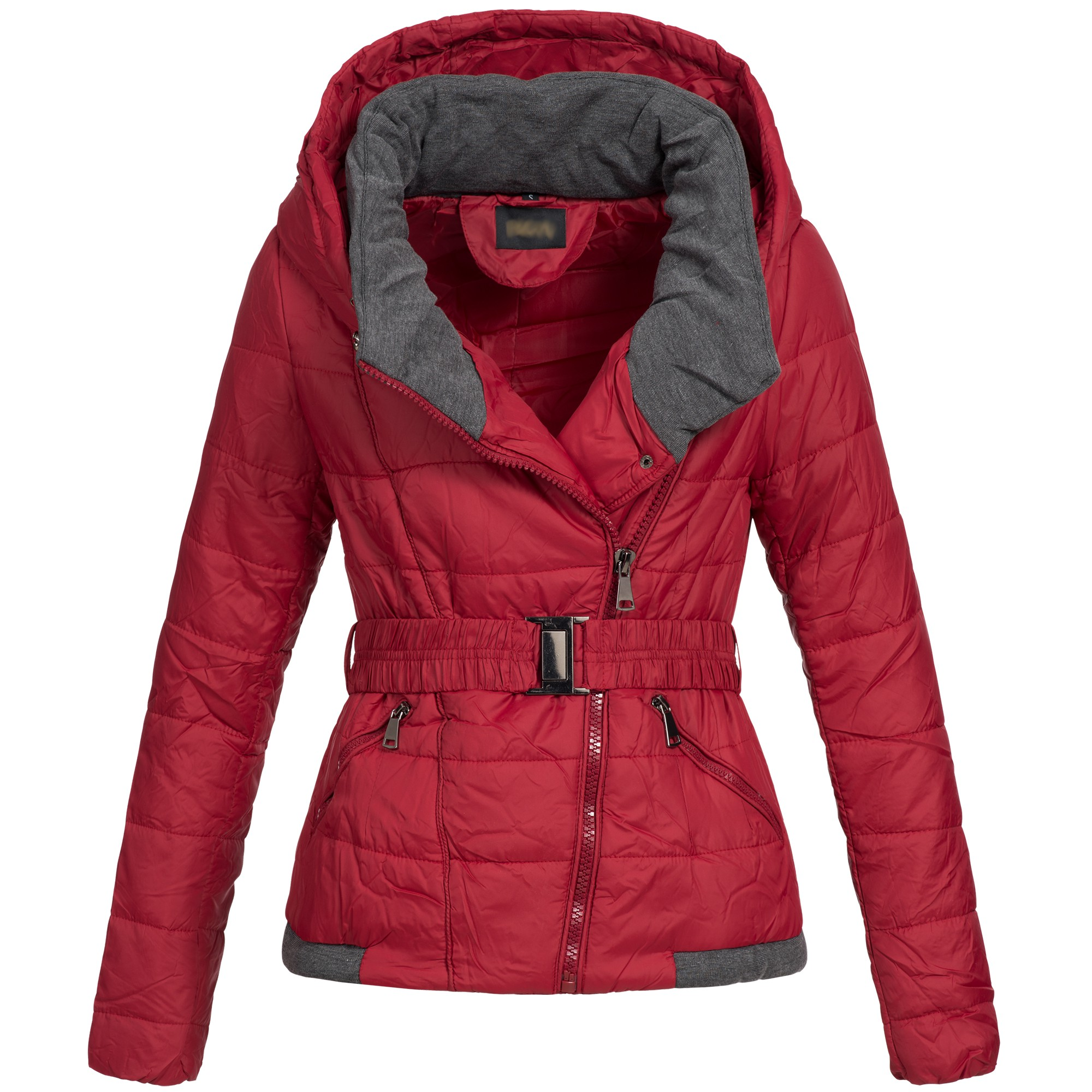dong damen jacke winterjacke parka steppjacke mantel 16988 rot gr s neu ebay. Black Bedroom Furniture Sets. Home Design Ideas