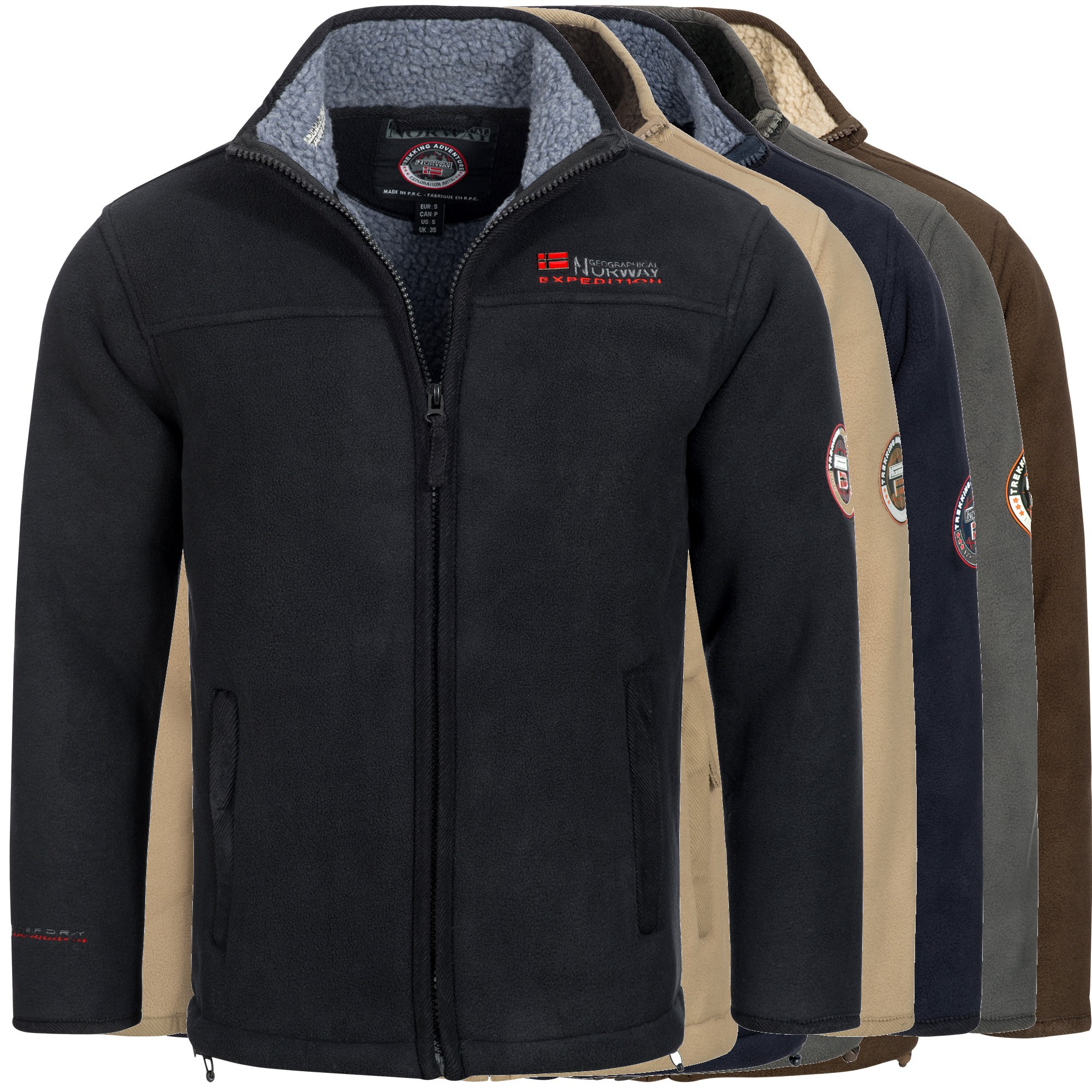 geographical norway ulmaire herren fleece jacke. Black Bedroom Furniture Sets. Home Design Ideas
