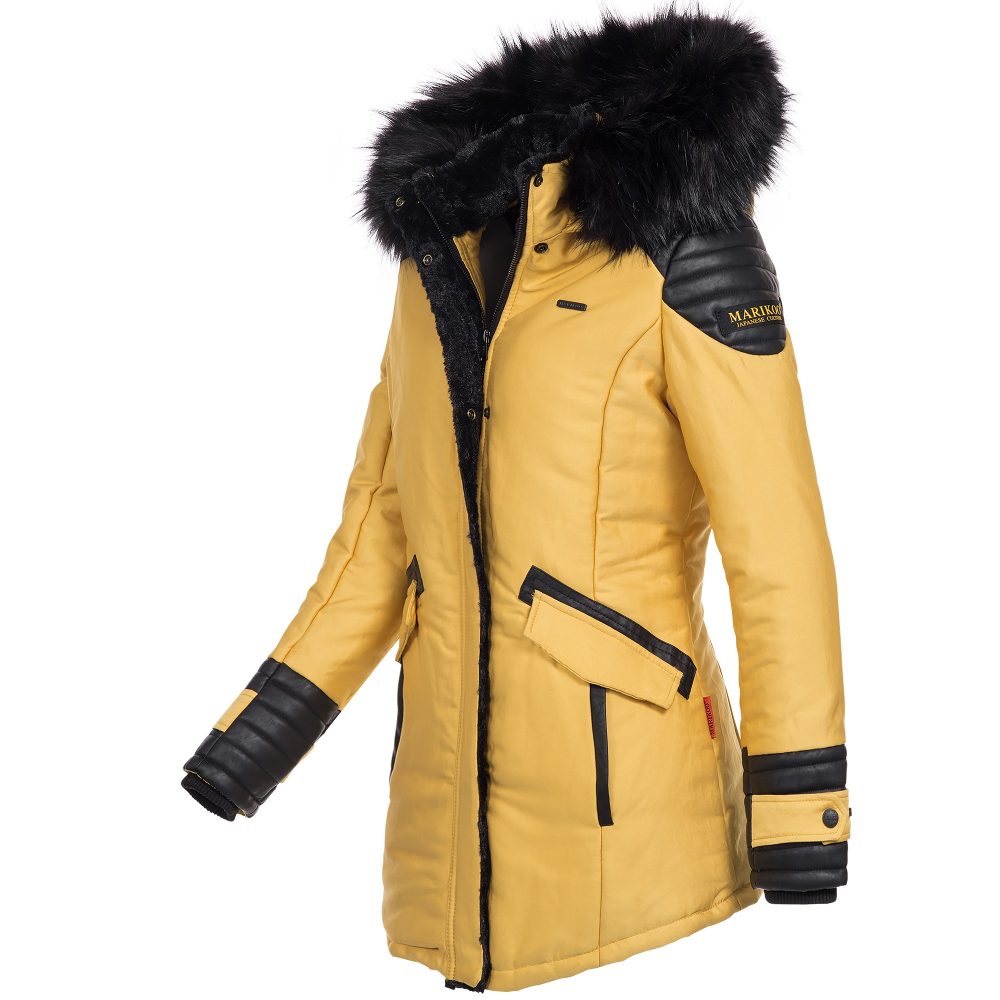 marikoo zauberfee damen mantel wintermantel jacke parka warm gef ttert xs xxl ebay. Black Bedroom Furniture Sets. Home Design Ideas