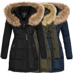 Geographical Norway Belissima Damen Winterjacke Parka Mantel Jacke warm Gr. S-XXL