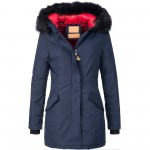 BOL Damen Mantel Kunstfell Winter Jacke Parka Wintermantel Winterjacke warm 15612 S-XXL 3Farben