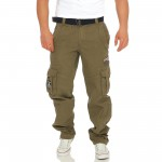 Geographical Norway POUDRE lange Cargo Hose Freizeit Outdoor Army Trousers XS-XXXL 003