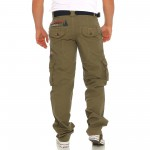 Geographical Norway POUDRE lange Cargo Hose Freizeit Outdoor Army Trousers XS-XXXL 004