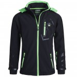 Geographical Norway Softshelljacke Herren/Damen Regenjacke Softshell Jacke Outdoor TEROUMA/TSEDAKA