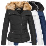 AZ-Fashion Damen Winterjacke Parka Steppjacke Jacke S-XL AZ28