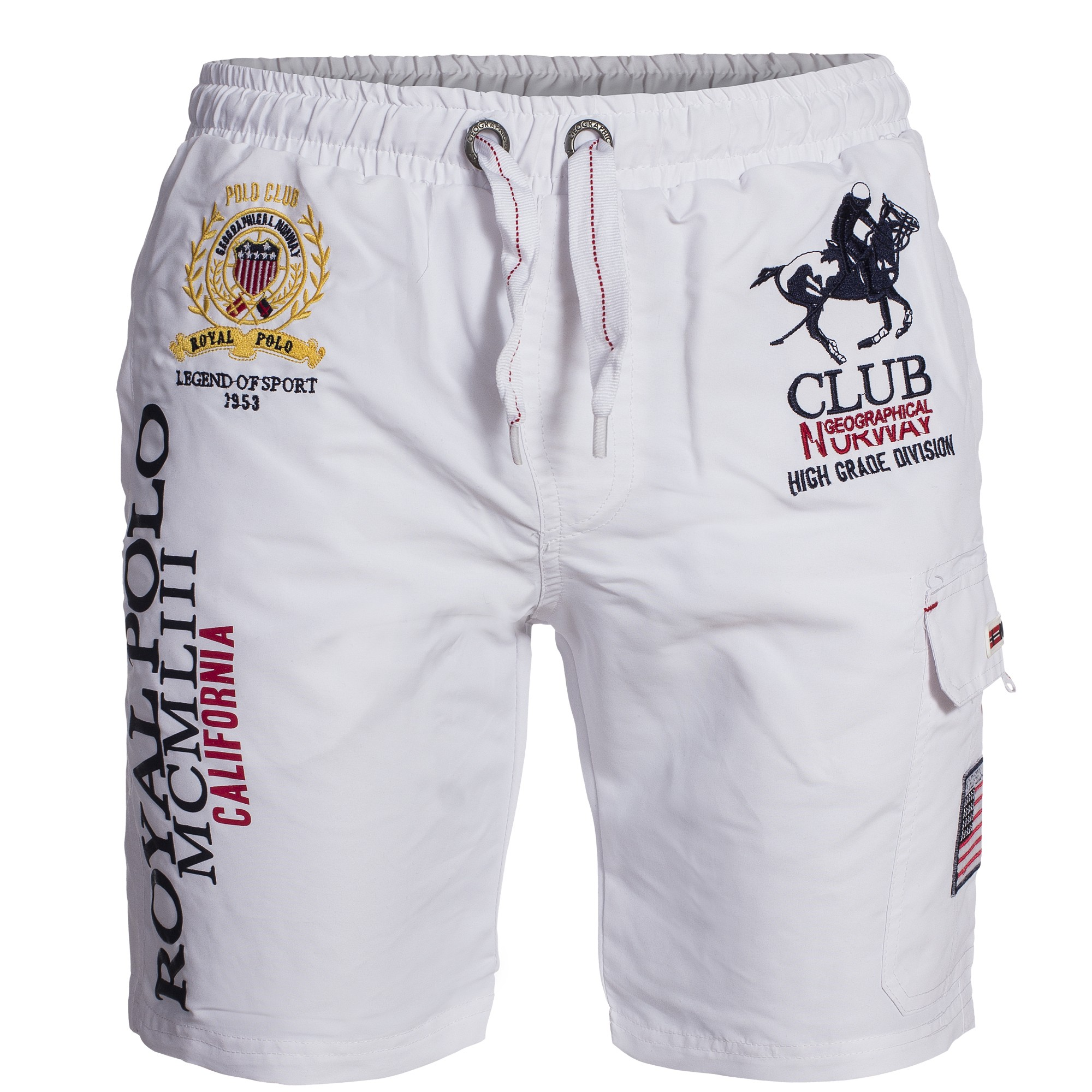 Geographical-Norway-QUOYAL-Badehose-Badeshort-Short-Gr-S-XXXL